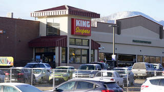 King Soopers grocery store where the mass shooting took place.