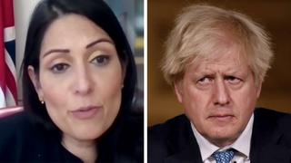 Nick Ferrari challenges Priti Patel over comments made by the PM