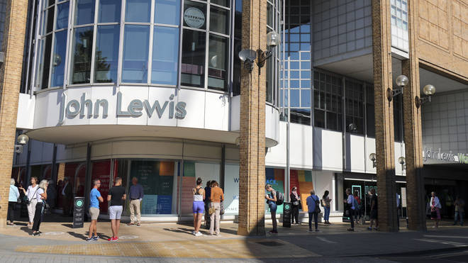 High street giant John Lewis has announced the closure of eight more department stores, putting 1,465 jobs at risk.