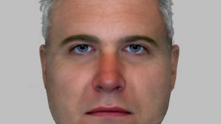 Police have issued an e-fit image of the man they wish to speak to in connection with an indecent exposure at a Sarah Everard vigil.
