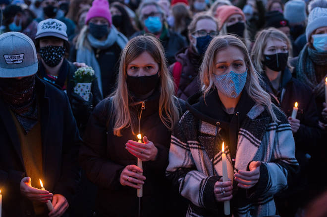 Many women attended the vigil on Clapham Common on 13 March to pay their respects to Sarah Everard.