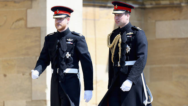 Prince Harry and William both inherited around £10 million from Princess Diana.