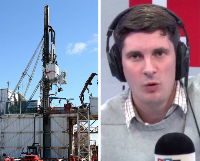 Tom Swarbrick had to intervene as two guests rowed over fracking
