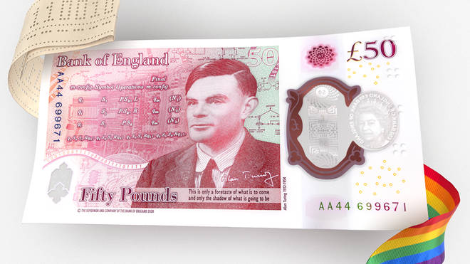 The Bank of England have revealed the design of the new £50 note