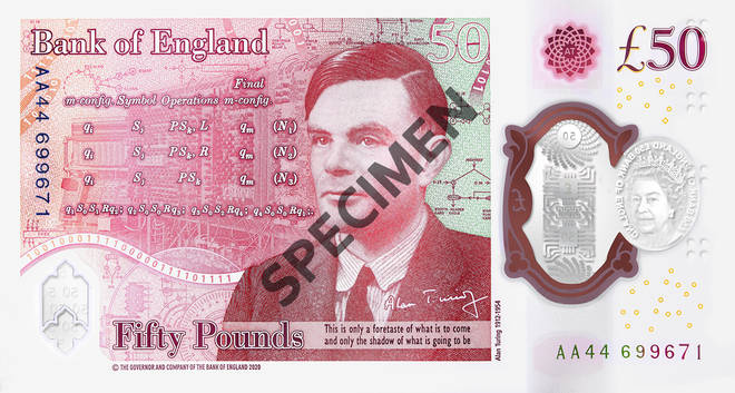 Alan Turing is perhaps best known for his codebreaking work during the Second World War. In recognition of this, the Bank of England have collaborated with GCHQ on the intelligence and cyber agency's toughest puzzle ever