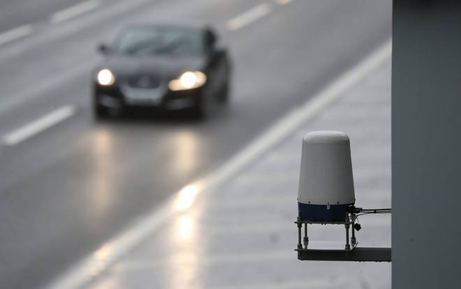 Sensors on smart motorways detect stopped vehicles and can close down a lane if needed
