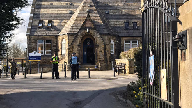 "Batley Grammar School in West Yorkshire has been criticised for showing an ""inappropriate"" cartoon of the Prophet Muhammad"