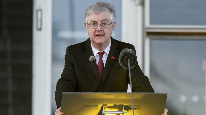 """Mark Drakeford said the relaxation is part of a """"careful and phased approach"""""""