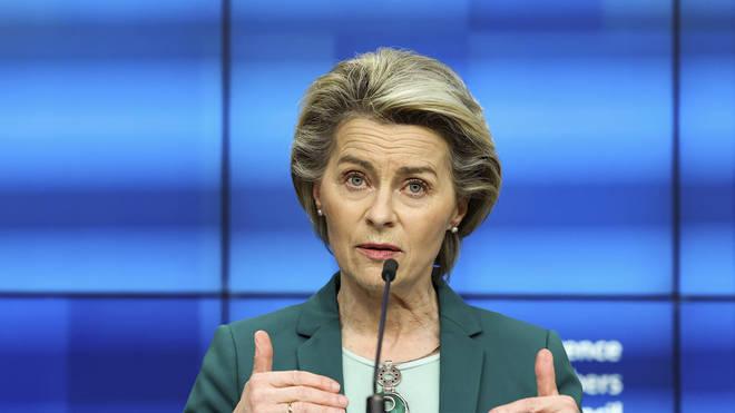 """Ursula von der Leyen has warned AstraZeneca that it must """"honour"""" its vaccine contract"""