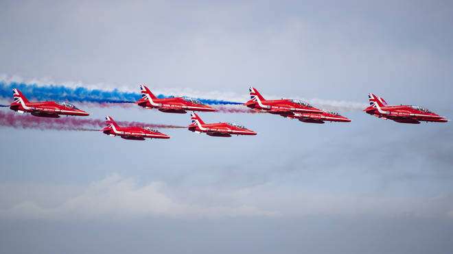 The Red Arrows have been temporarily stood down after the same model of jet crashed on Thursday