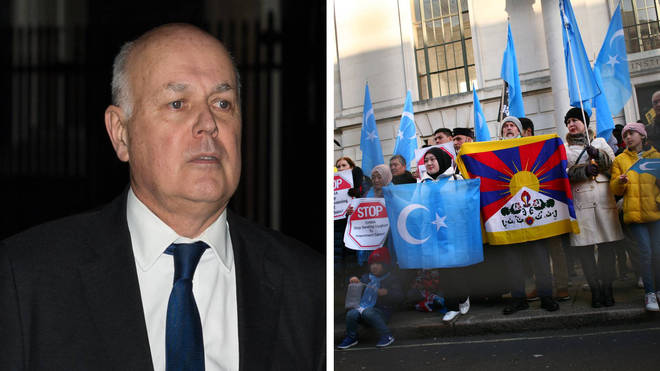 Iain Duncan Smith is among those targeted by China's sanctions over Uighur Muslims.