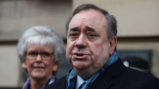 Alex Salmond's new pro-independence party will be called the Alba Party
