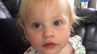 Sean Sadler inflicted fatal brain injuries on 21-month-old Lilly Hanrahan