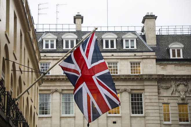 The Union flag will be flown on all UK Government buildings