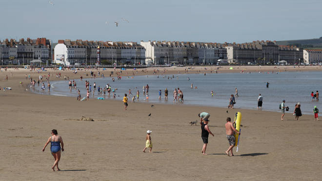 The country could be basking in 24C weather this week