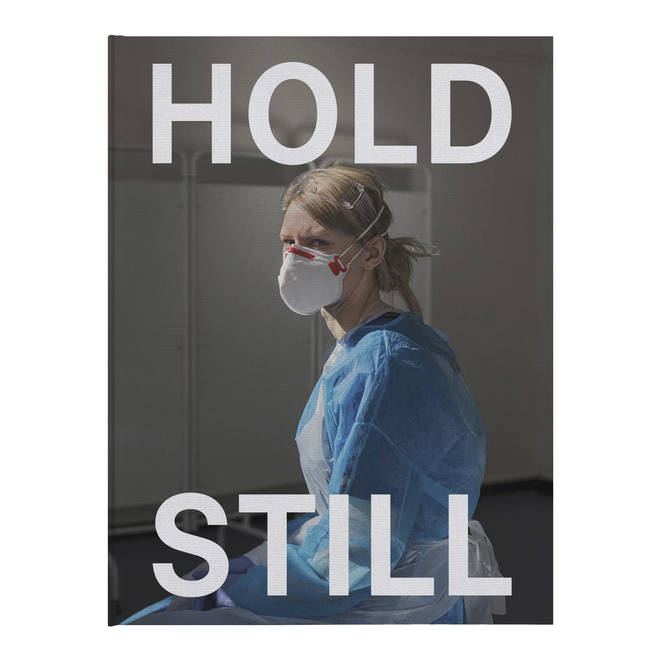 The proceeds from sales of Hold Still will be split between mental health charity Mind and The National Portrait Gallery.