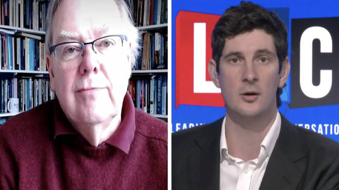 """Prof Robert Dingwall told Tom Swarbrick June 21 may not be the """"great day of liberation"""""""