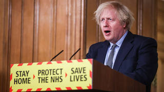 Boris Johnson is set to hold a coronavirus press briefing later today