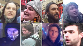 Police have released images of people they want to speak to