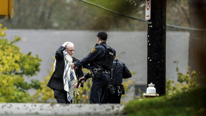 11 people were killed at a synagogue in Pittsburg on Saturday