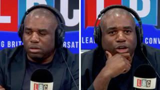 David Lammy schools caller who tells him he's 'not English'
