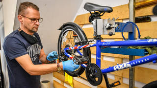 The government's bike repair voucher scheme has released another 150,000 vouchers