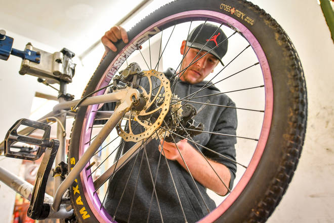 150,000 more bike repair vouchers have been released by the government