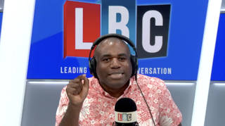 Celebrities and politicans share support for David Lammy after viral call