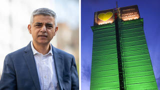 "Sadiq Khan has described the treatment of Grenfell Tower resident's complaints as ""a disgrace""."