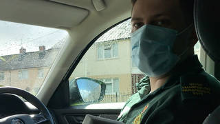 Covid crisis has been 'brutal' this past year, Welsh paramedic tells LBC