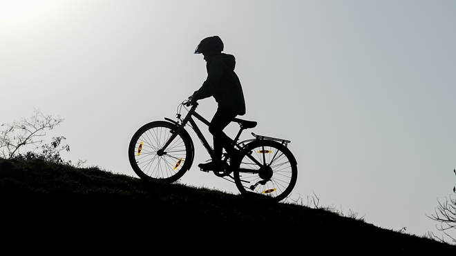 Children have been told that they face £60 fines for cycling in an area of a park on Sheen Common, Richmond. File photo.