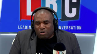 The caller was speaking to LBC's David Lammy