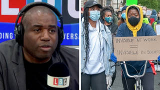 David Lammy caller: People who think the UK isn't racist are 'having a laugh'