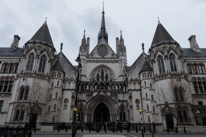 A view of the Royal Courts of Justice