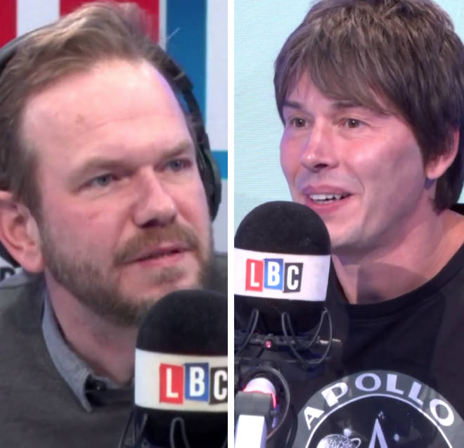 Brian Cox joined James O'Brien on Wednesday