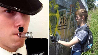 Hannam has been convicted of joining a neo-Nazi group and lying to the Met about it.