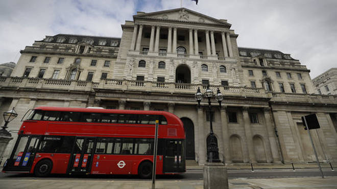 The Bank of England was targeted by climate activists