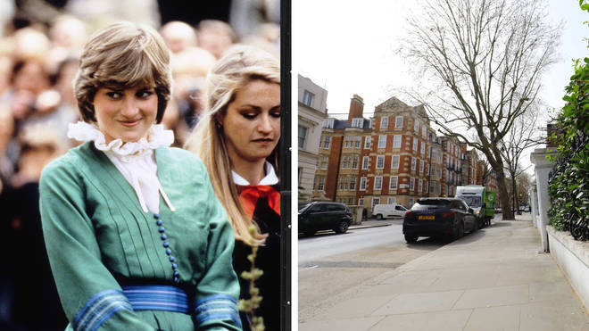 Princes Diana's old flat is receiving a blue plaque.