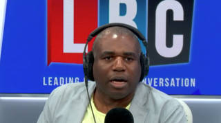 David Lammy gave a passionate monologue on vaccine passports