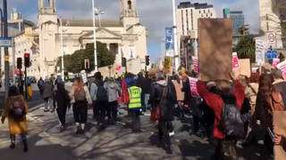 A Kill the Bill protest has started in Leeds