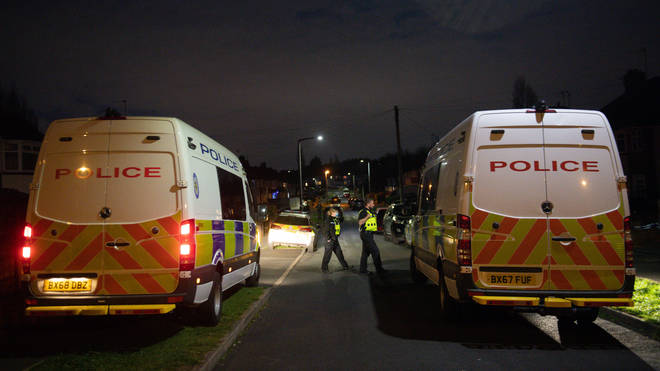 Police are at the scene of the attack