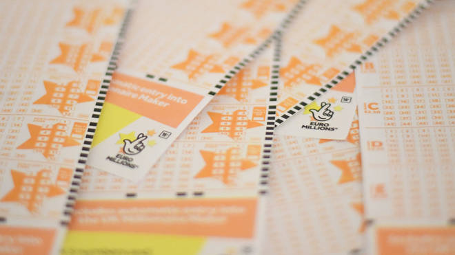 The lucky winner will receive £122 million once checks go through