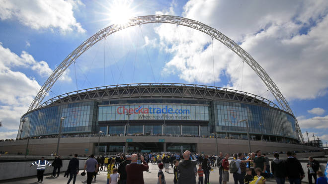 Vaccine passports will be trialled for three football matches at Wembley Stadium