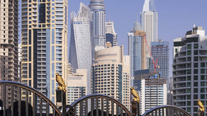 Police in Dubai have arrested a group of people on charges of public debauchery, authorities have said.