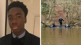 Police divers have been searching in Epping Forest as they investigate the disappearance of Richard Okorogheye (left).