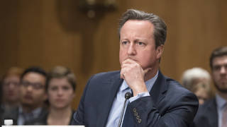 Former Prime Minister David Cameron is under fire for his use of contacts to lobby the government on behalf of Greensill Capital.