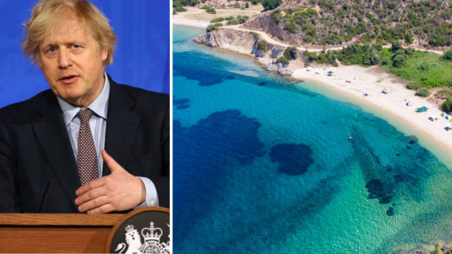 Boris Johnson is set to announce a new system for foreign travel
