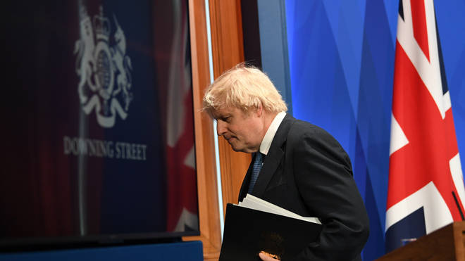 Boris Johnson confirmed vaccine passports will be trialled from mid-April