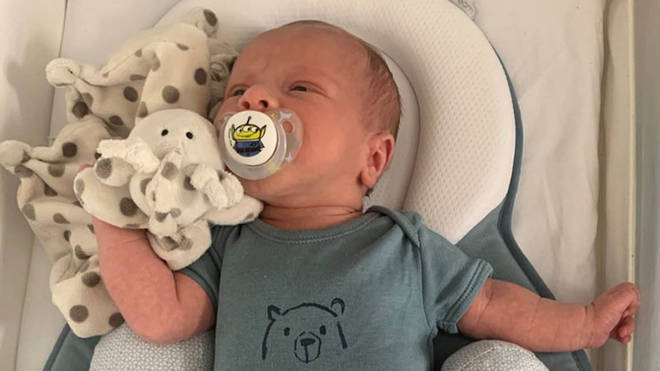Ciaran Leigh Morris was killed after a car hit the pram he was being pushed in