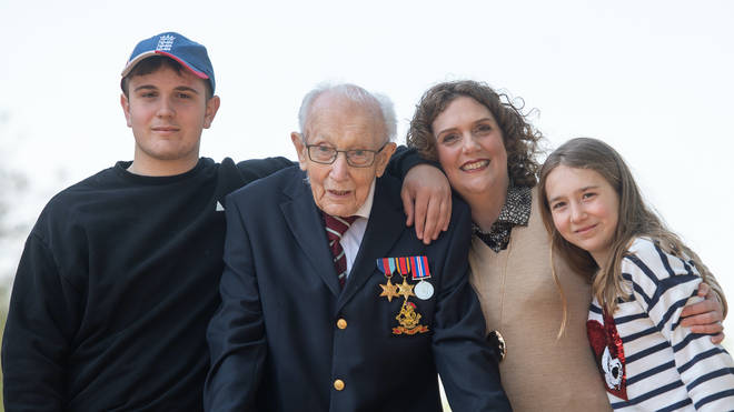 Captain Sir Tom Moore believed he would live to see his 101st birthday